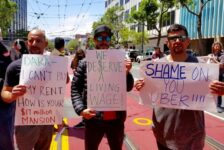 Uber, Lyft drivers stage protest for better working conditions
