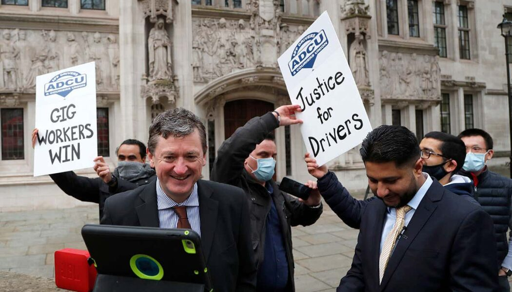 Uber drivers are workers, rules UK Supreme Court